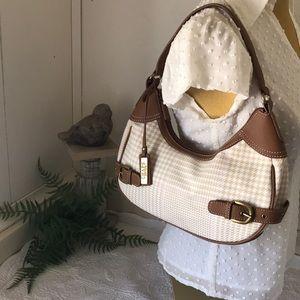 So Cute Houndstooth Hobo Shoulder Handbag Chaps